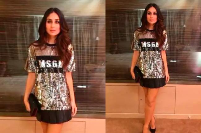 Kareena kapoor sexy short dress