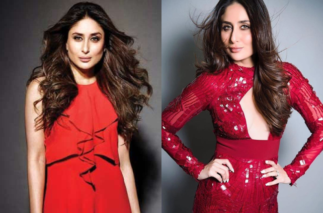 Kareena kapoor in sexy red