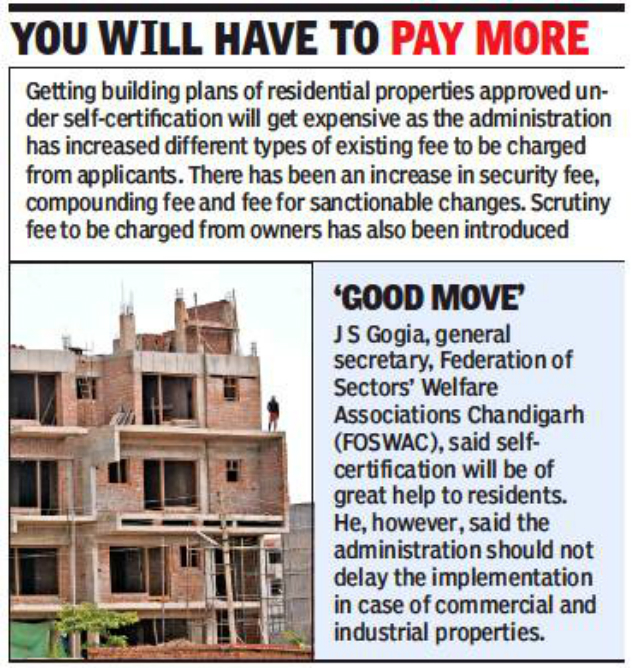 Chandigarh City: Construct house without getting plan approved ...