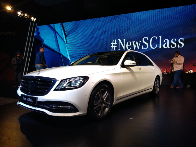 Mercedes Benz S Class 2018 Mercedes S 350d Launched India S First