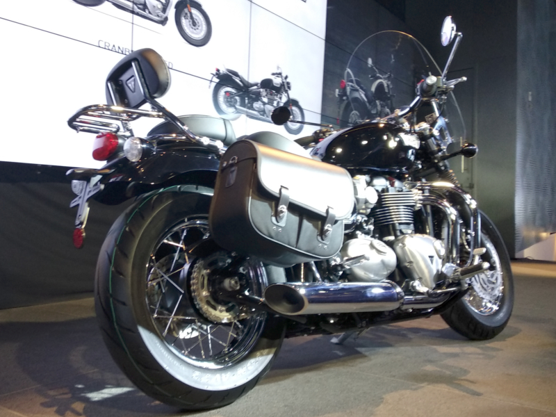 Triumph Motorcycles Triumph Bonneville Speedmaster Launched At Rs