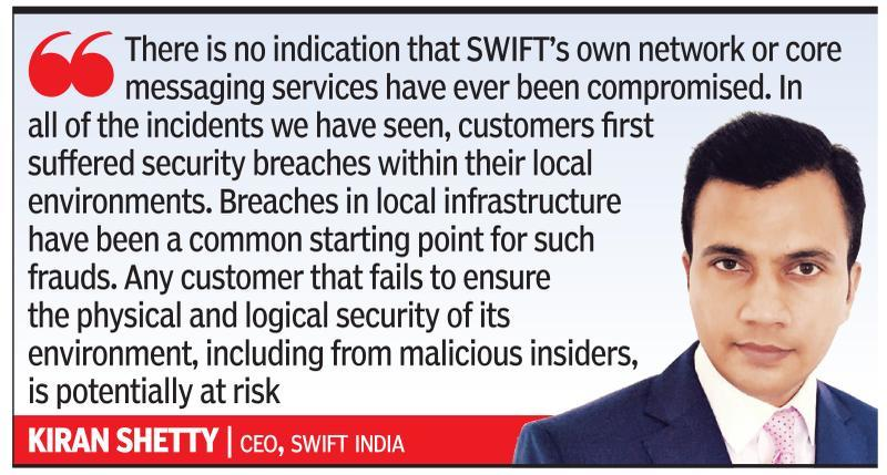 SWIFT may report non-compliant banks