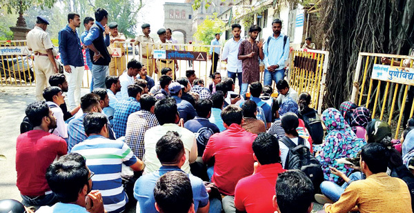 Students and faculty have been on a hunger strike at SPPU