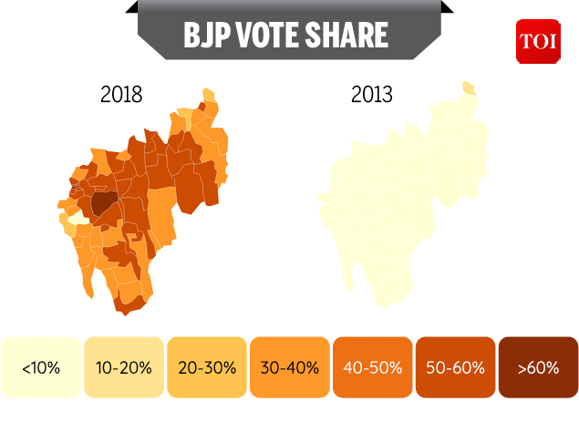 Tripura voteshare-Infographic-TOI