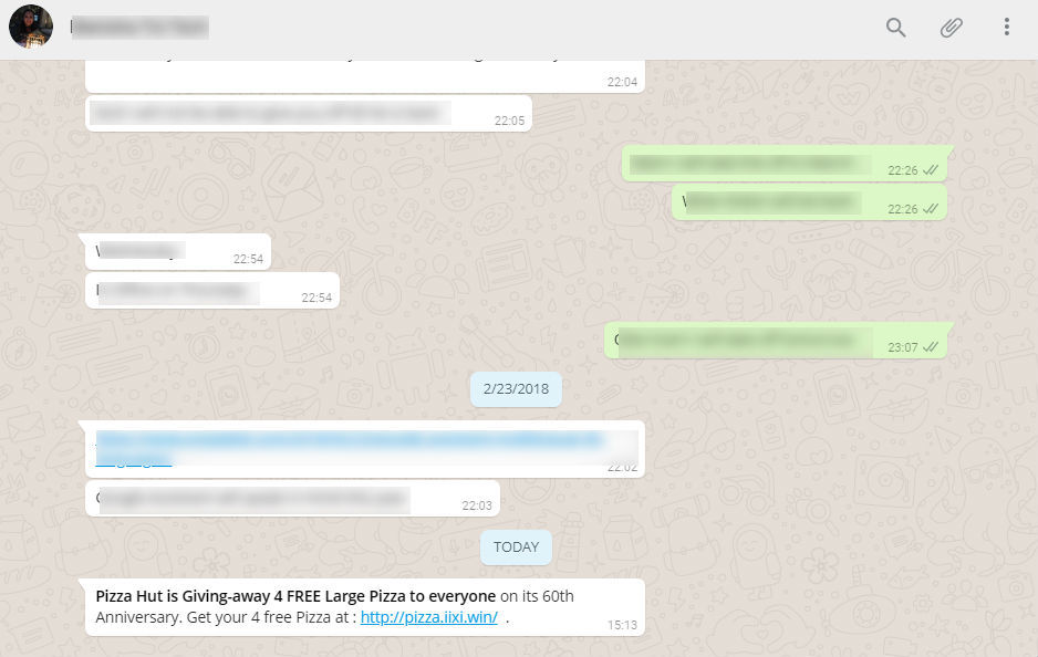 A similar kind of WhatsApp scam in the name of Adidas shoes was reported in  London last month.