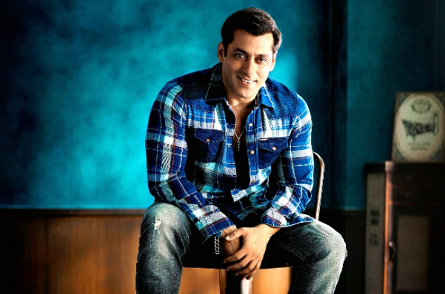 Salman khan checkered