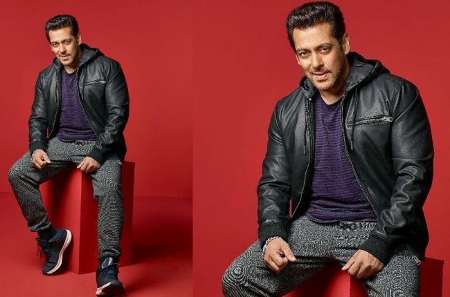 Salman khan photo in Black