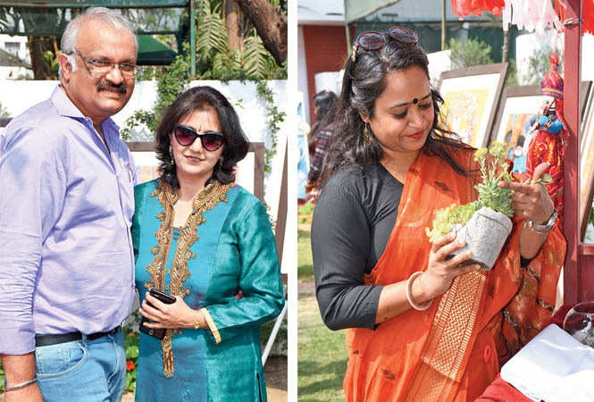 Pankaj & Nicky Gupta (R) Shraddha Saxena (BCCL/ Vishnu Jaiswal)