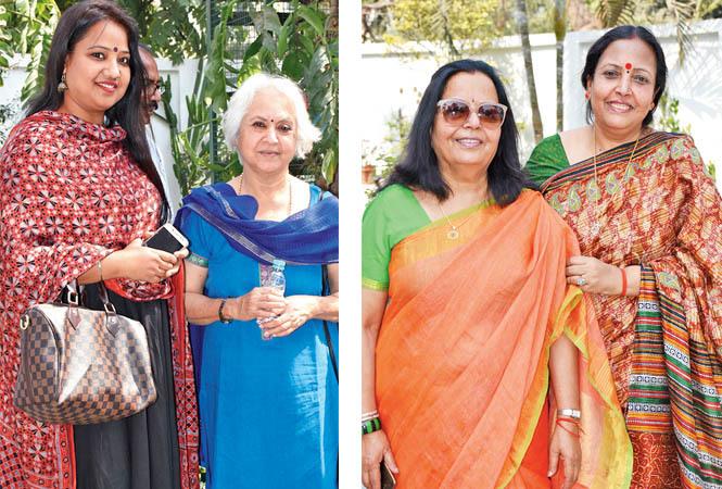 Tripti Pahwa and Benu Kalsi (R) Dr Madhu and Priti (BCCL/ Vishnu Jaiswal)