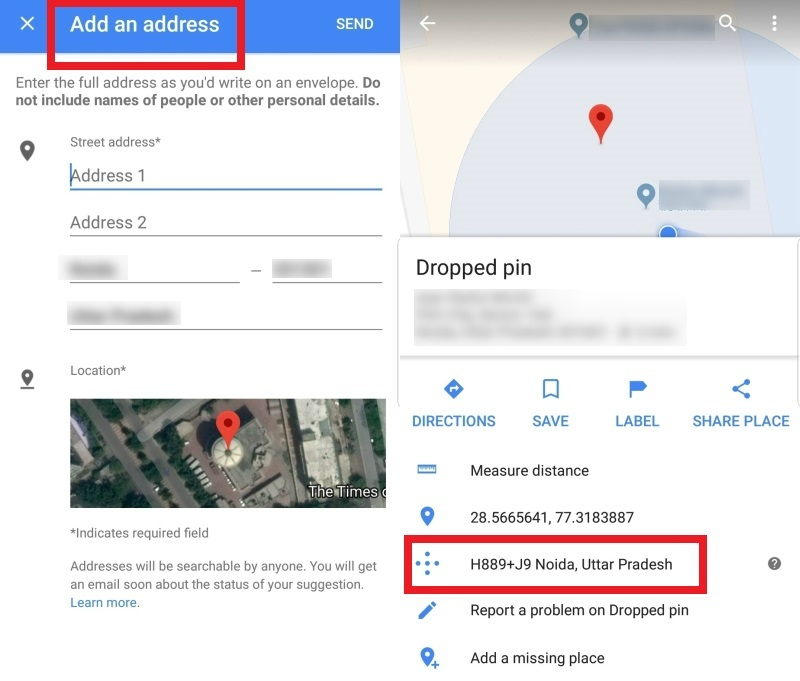 Google Maps gets four new features in India; Plus Codes, Add ... on instagram address, gmail address, google aerial view of property, google home address, google web address,