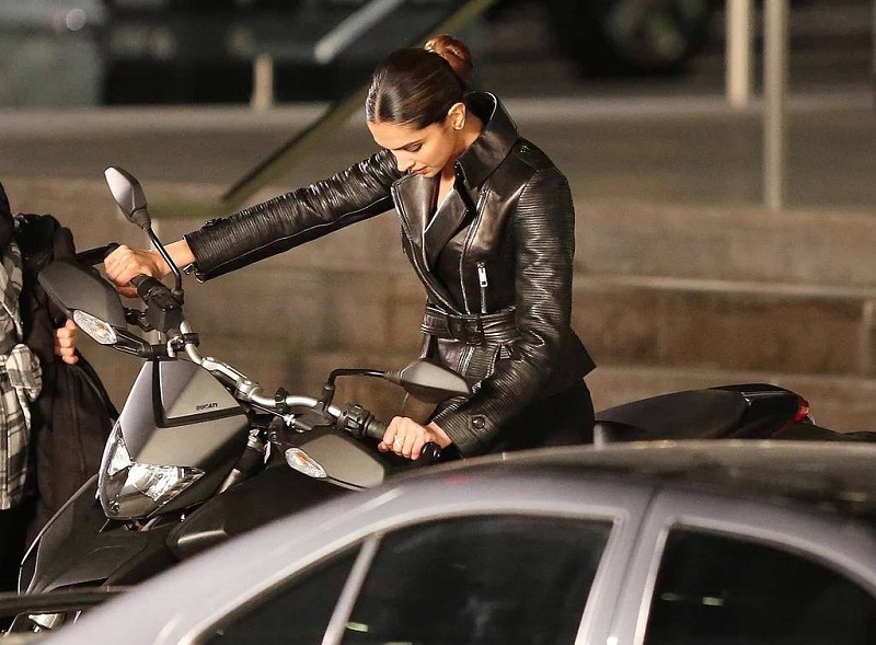 Deepika Padukone looks like a total rockstar clad in black leather in these pictures from xXx