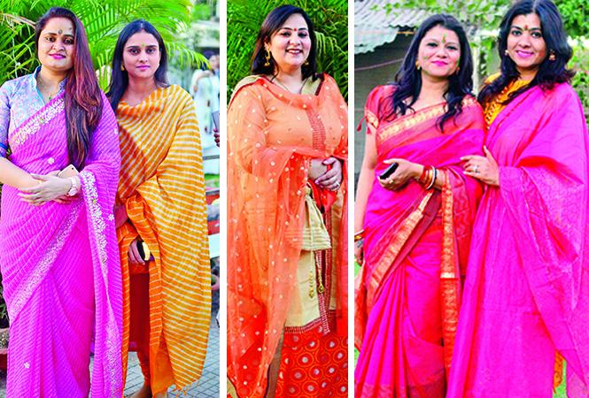 (L) Anamika and Priyanka (C) Gaytree (R) Kavita and Rama (BCCL/ Pankaj Singh)