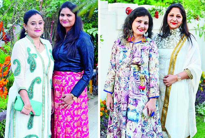 (L) Shivangi and Kanak (R) Vinita and Shweta (BCCL/ Pankaj Singh)