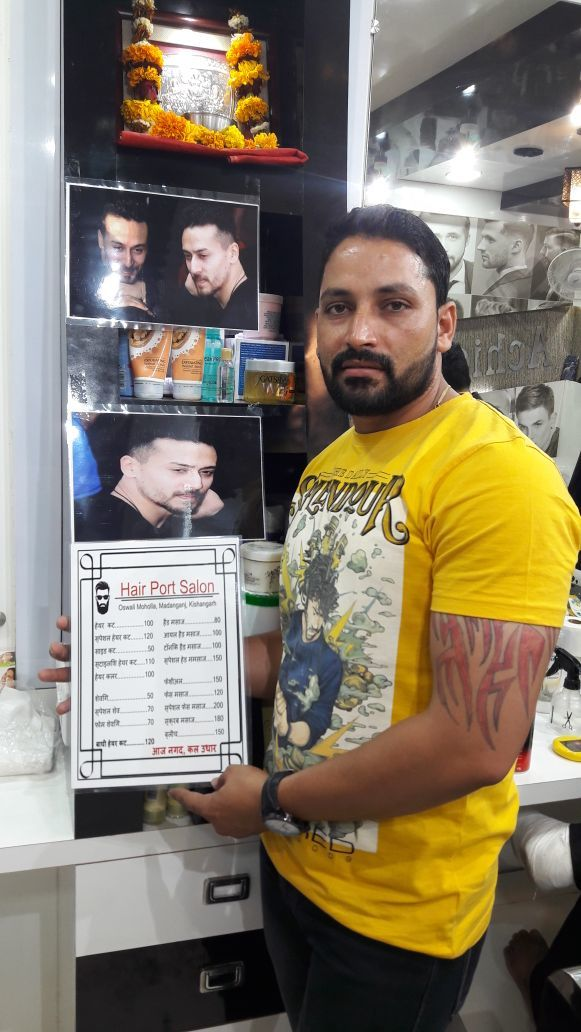 Shroff Tiger Shroffs Baaghi 2 Look In Demand At Salon Of Small Towns