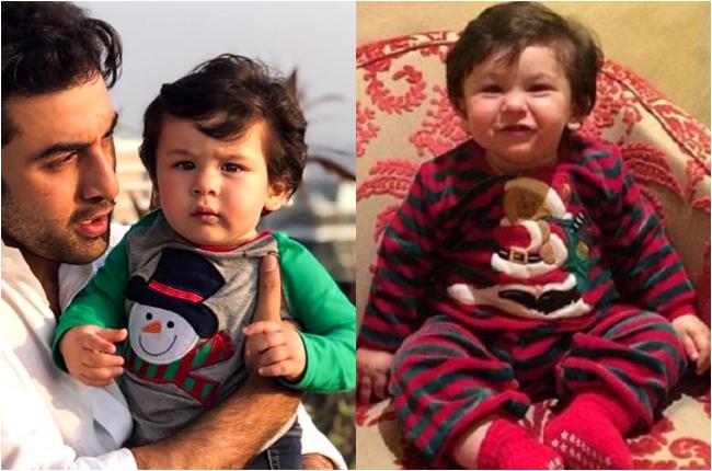 Taimur Ali Khan celebrating christmas