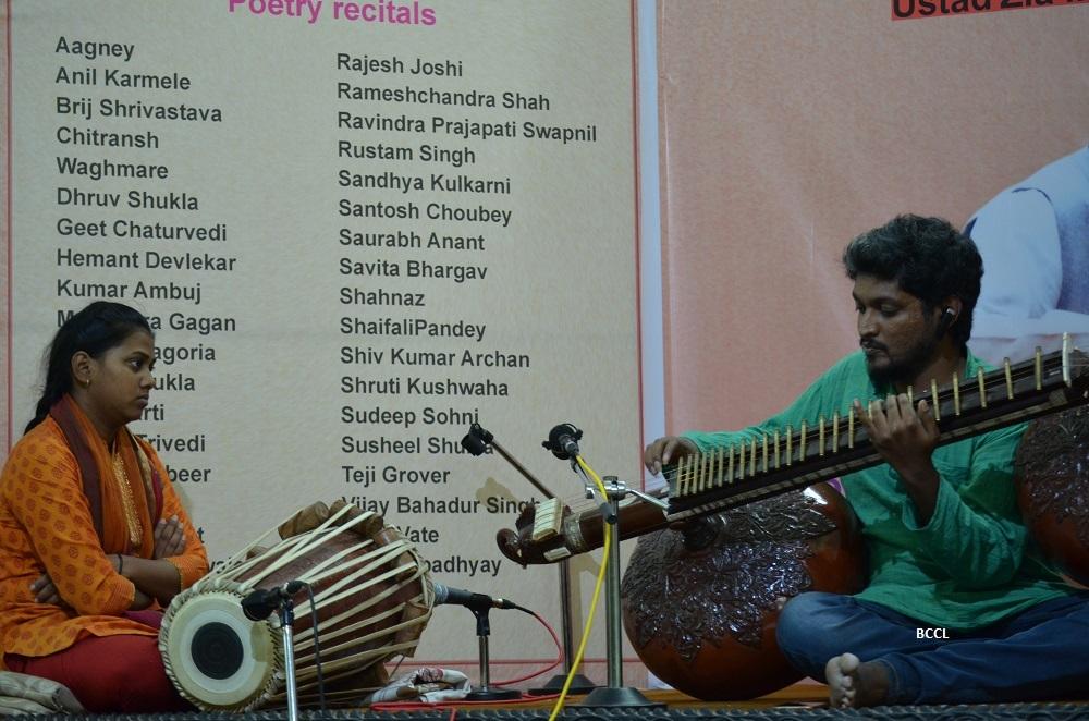 Murali Mohan Gowda performing on Rudra Veena