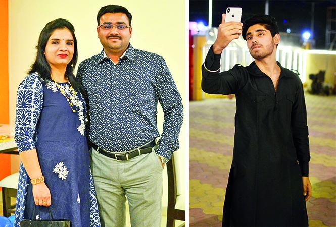(L) Priyanka and Gaurav (R) Pavan (BCCL/ Pankaj Singh)