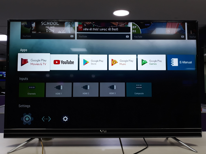 Vu 55SU134 Android 4K UHD TV review: A decent companion for
