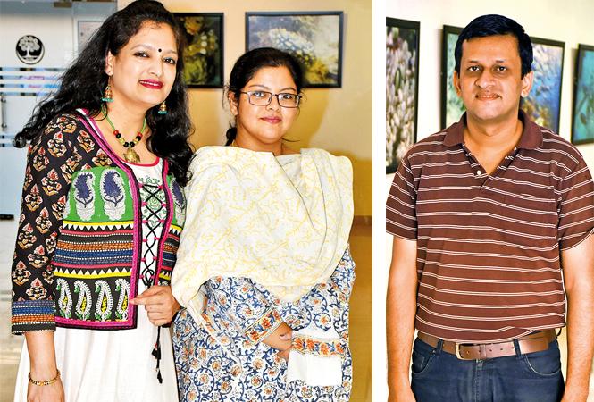 Reena Agarwal and Anju Paliwal (R) Atif Hanif (BCCL/ Vishnu Jaiswal)