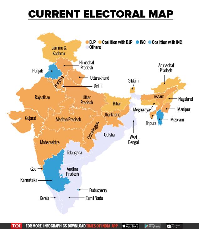 Lok Sabha map
