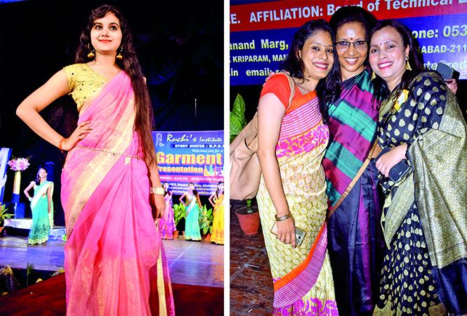 (L) Narmata (R) Nitika, Ruchi and Pragya (BCCL/ Pankaj Singh)