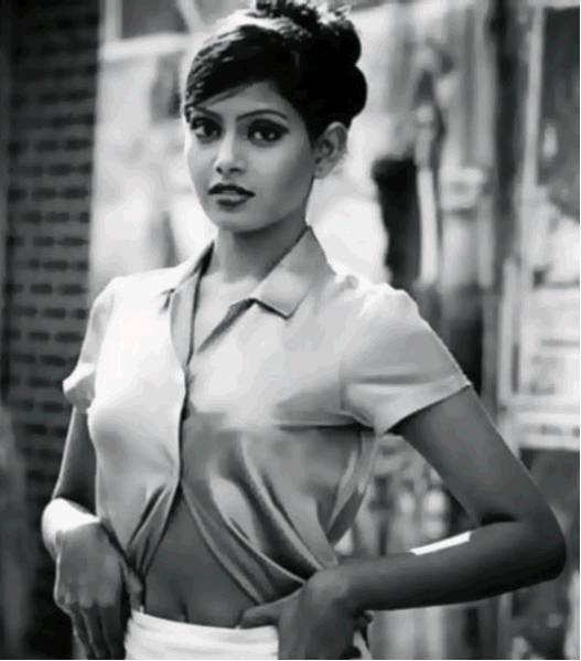 Bipasha Basu as a model