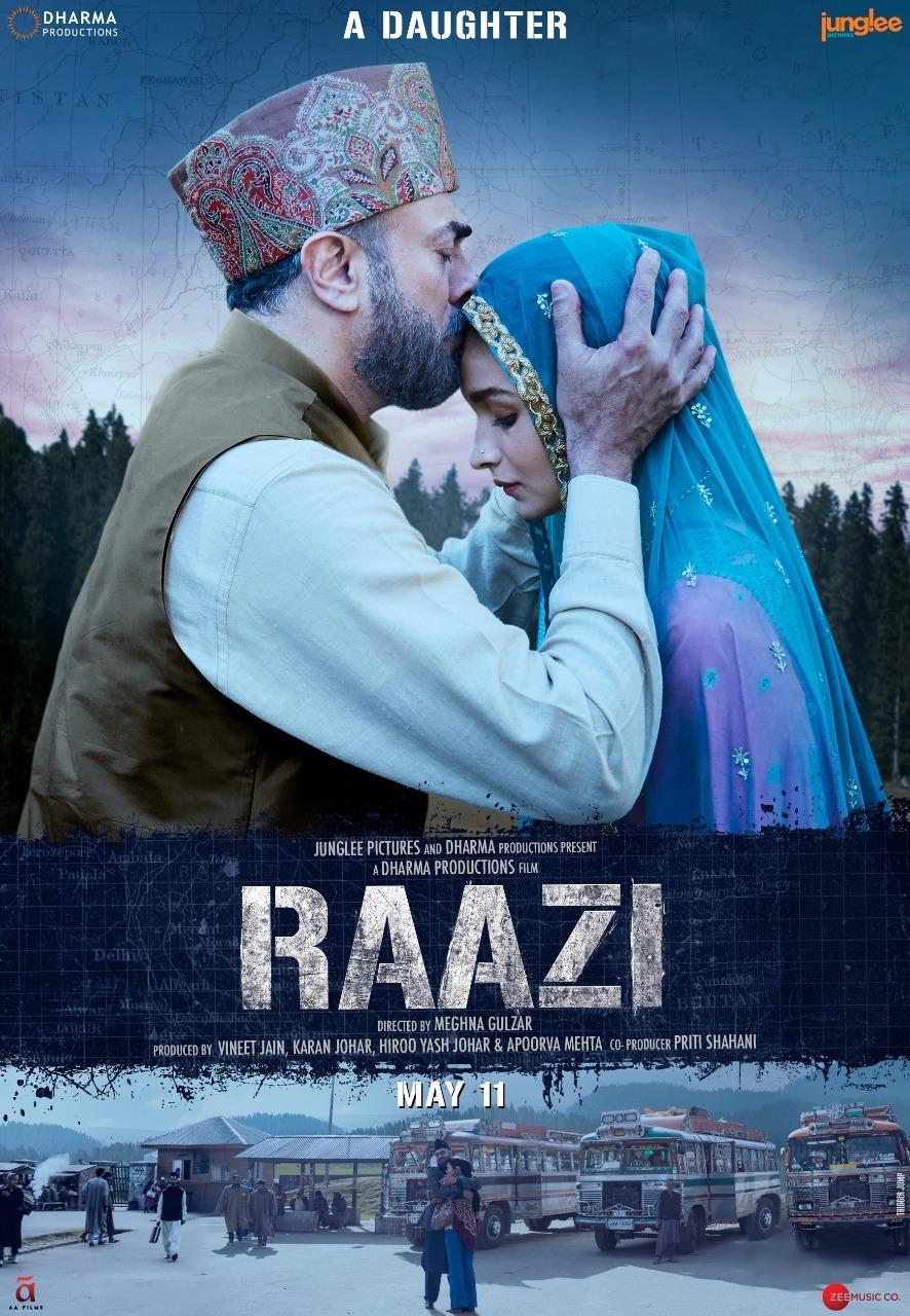 Alia Bhatt in Raazi First Look Poster