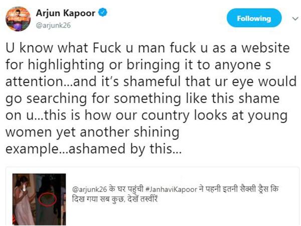 Janhvi Kapoor Arjun Kapoor