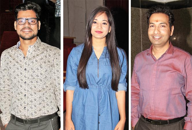 Shobhit, Naina and Sarvesh Goel  (BCCL/ Aditya Yadav)
