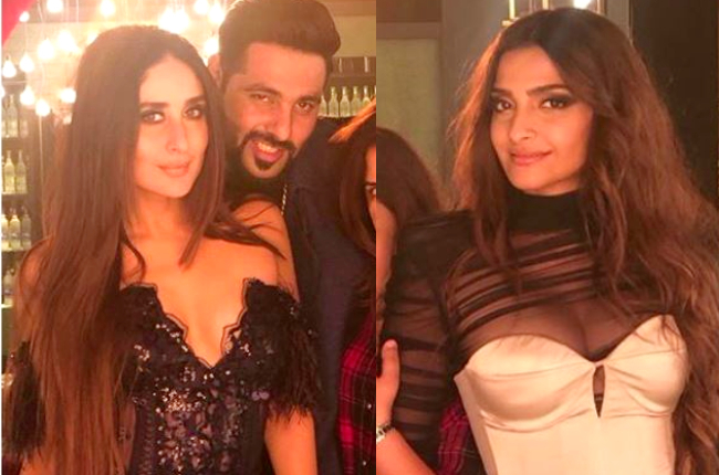 Kareena Kapoor and Sonam Kapoor sexy