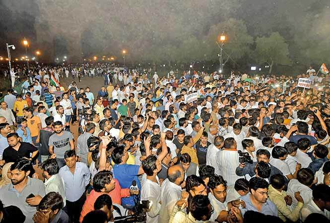 Protest-India-gate-2