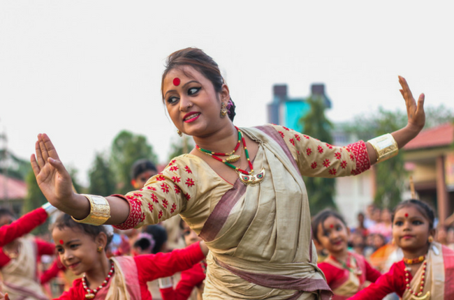 Bihu 2018 dances
