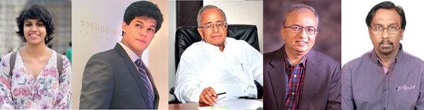 (L-R) Aparna Nambiar, Vikram Dileepan, CN Raghavendran, Shripal Munshi and Anthony Raj