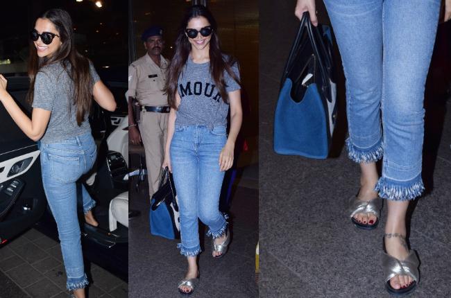 Deepika Padukone airport look