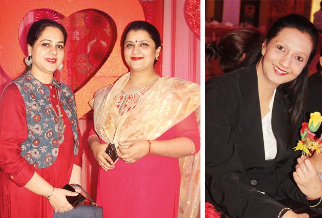 Pallavi Agrawal and Sheetal Singh (R) Priya Bajaj (BCCL/ Arvind Kumar)