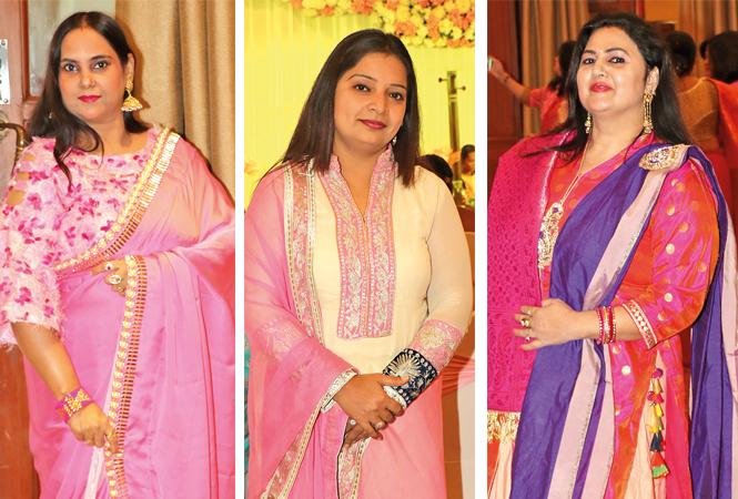 Rashmi Rai, Reena Mishra and Rishika Mishra (BCCL/ Unmesh Pandey)