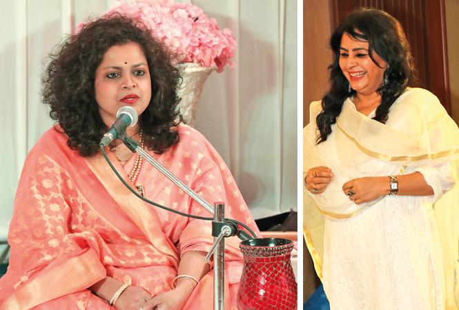 Archana Mhaskar and Sujata Mishra (BCCL/ Unmesh Pandey)