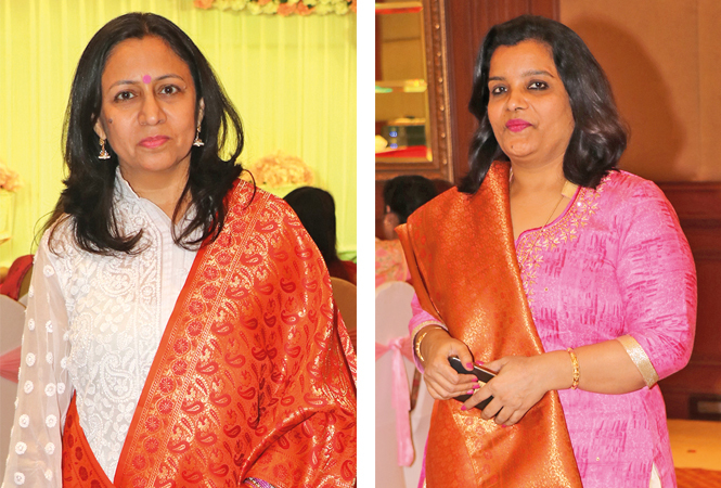 Dr Mridula Shukla and Dr Bhawana Trivedi  (BCCL/ Unmesh Pandey)