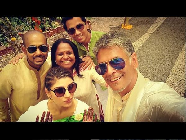 Milind Soman - Ankita Konwar Marriage Video