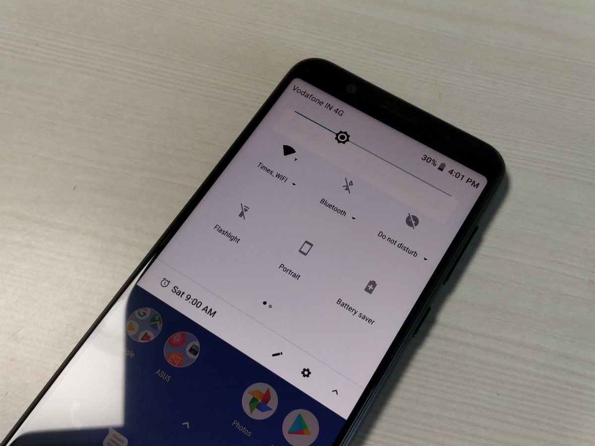 asus zenfone max pro m1 android p update