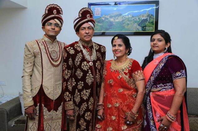 renouncing it all all members of 2 families to take diksha in
