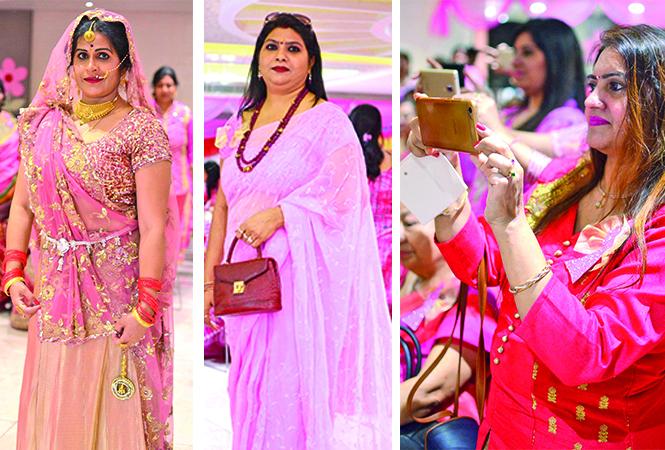 (L) Manju Narayan (C) Monika (R) Parul (BCCL/ Pankaj Singh)