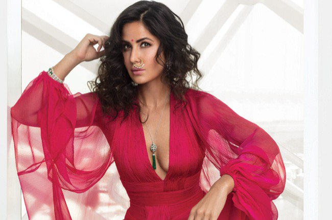 katrina kaif in stunning red