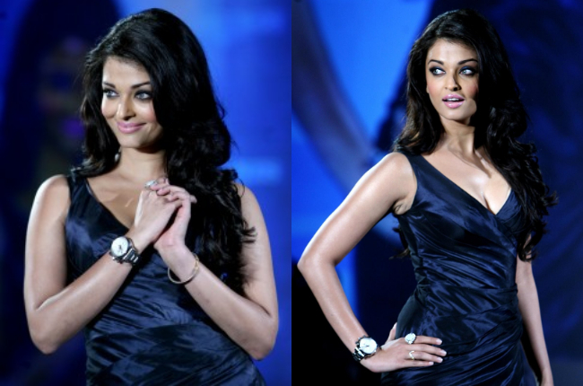Aishwarya Rai in hot blue