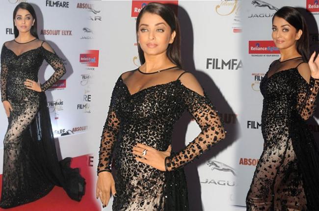 Aishwarya Rai as dazzling diva