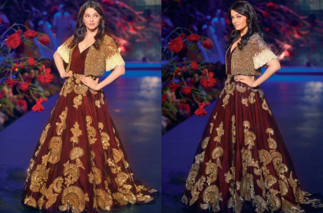 Aishwarya Rai the queen of ramp