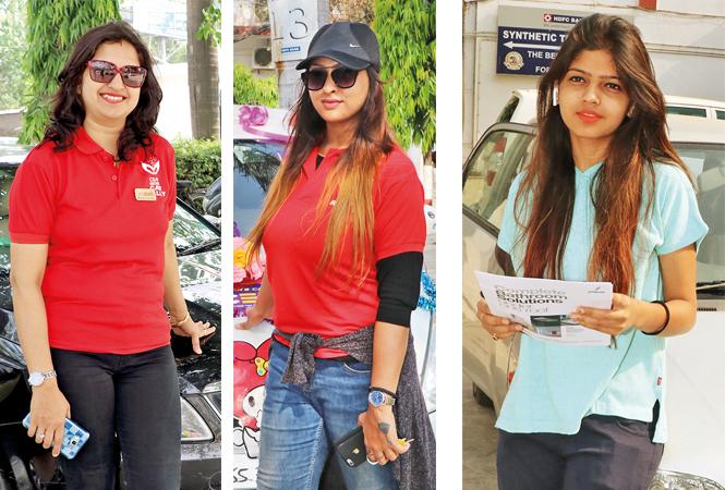 Smita Sahu, Utkarsha Mukherjee and Amola Soni (BCCL/ Unmesh Pandey)