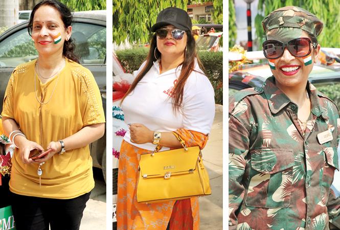 Rekha Parekh, Rishika Mishra and Shruti Jaju (BCCL/ Unmesh Pandey)