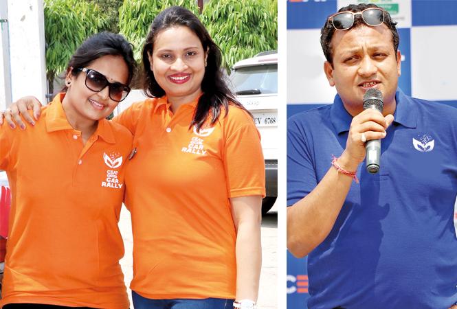 Chanchal Sharda (L) and Ritu Maheshwari, Manieesh Maheshwari (BCCL/ Unmesh Pandey)