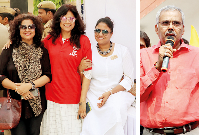 (L-R) Archana Mhaskar, Sonia Didwania, Gunjan Chandak and Yogeshwar Ram Mishra (BCCL/ Unmesh Pandey)